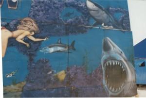 Decoração Shark Tank  Feira Popular